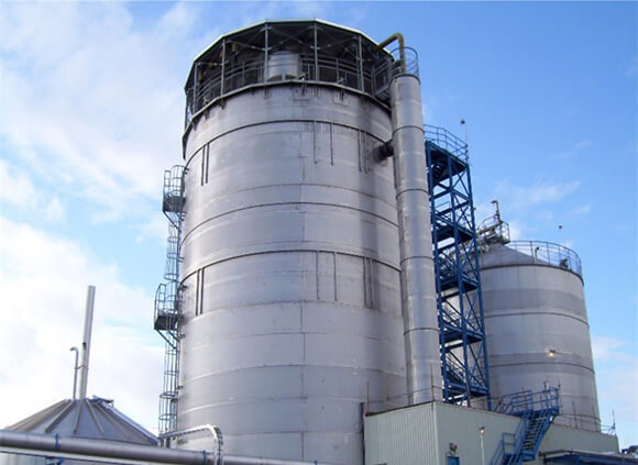 Matane Mill produces its own biogas