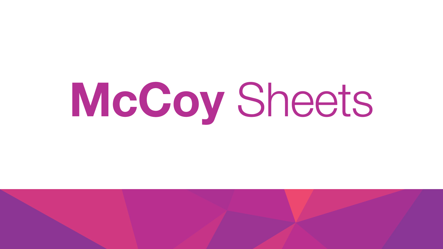 McCoy Sheets | Sappi Global