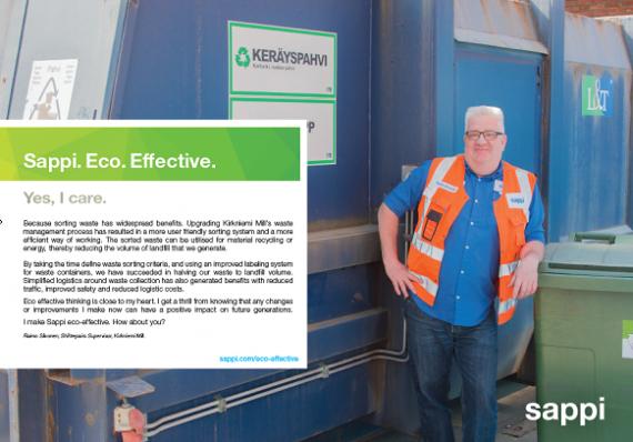 Upgrading waste management process – Kirkniemi Mill