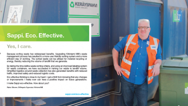 Upgrading waste management process – Kirkniemi Mill